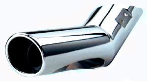 Chrome Tail Pipe Tip ML 1998-2005