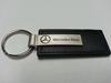 Mercedes Benz Black Leather Keychain