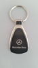 Mercedes Benz Black Teardrop Keychain