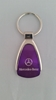 Mercedes Benz Purple Teardrop Keychain
