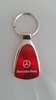 Mercedes Benz Red Teardrop Keychain
