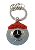 Mercedes Benz Brake Rotor Keychain