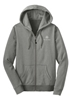 Mercedes Benz Womens Striped Full Zip-Up Hoodie